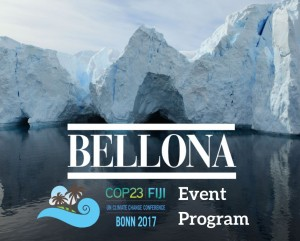 COP23 Bellona program Fiji Bonn