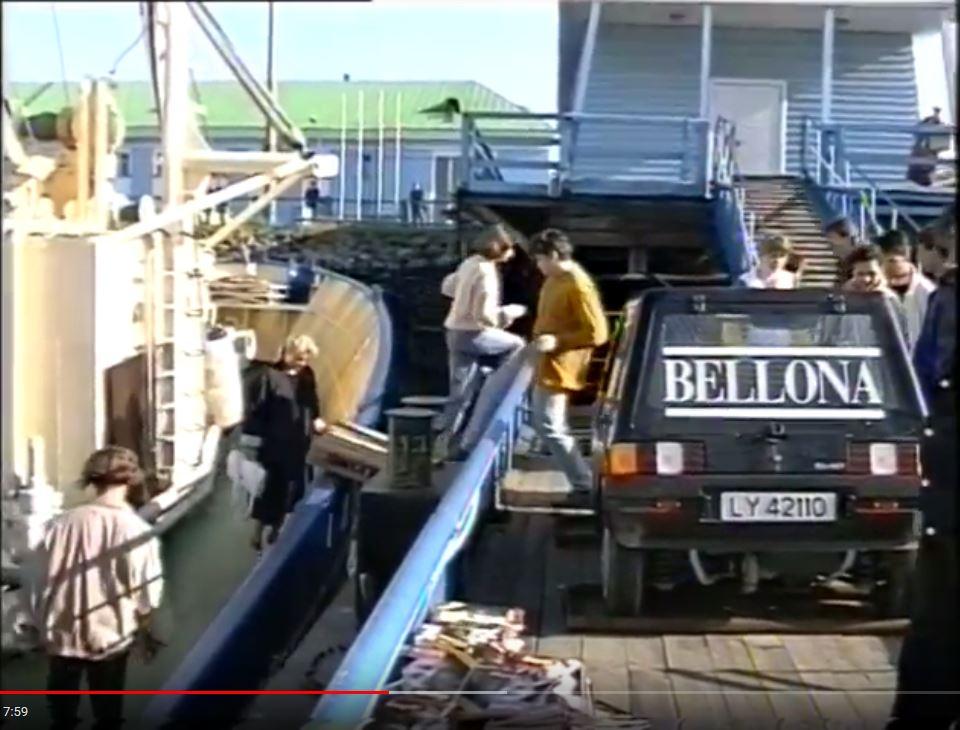 Elbil på Genius i Murmansk 1992
