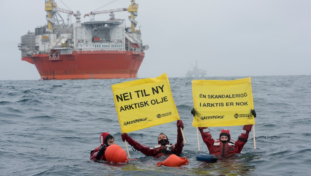 Goliat-protest-Greenpeace