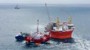 Goliat klargjøres for produksjon i Barentshavet
