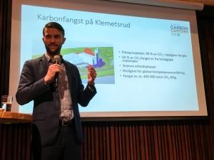 Eirik Folkvord Tandberg CCS-frokost