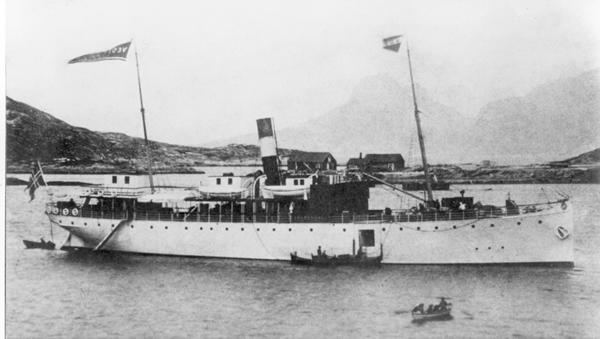 Hurtigruten 1893 DS Vesteraalen