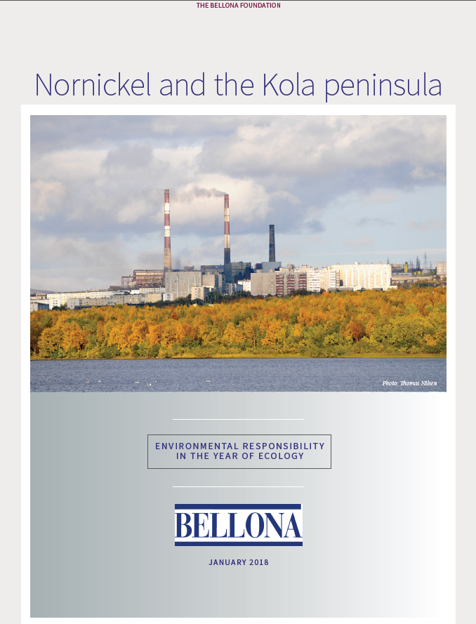 Nornickel and the Kola peninsula