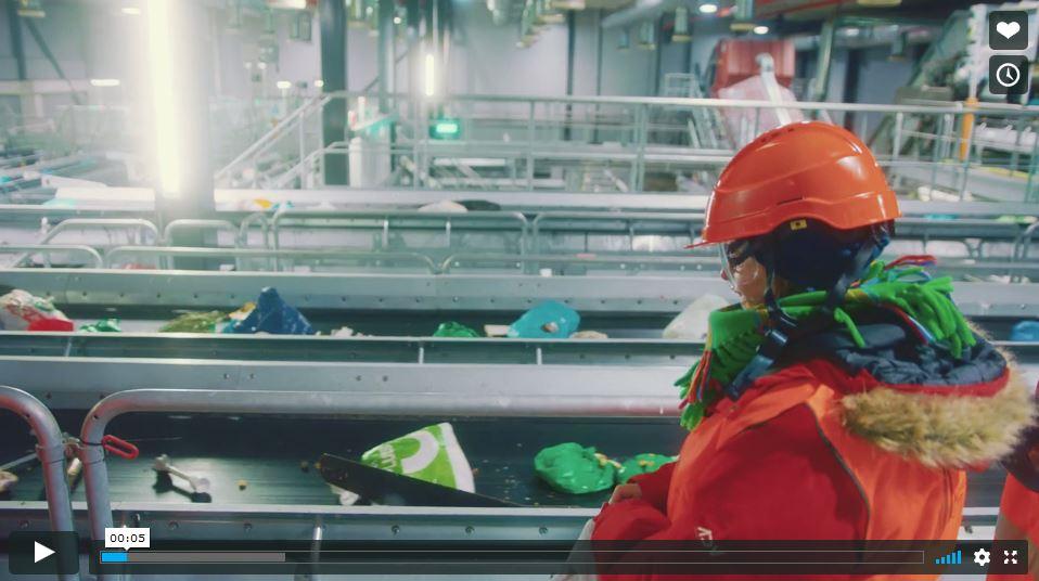 Klemetsrud avfallsanlegg video