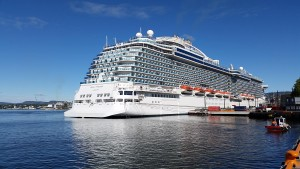 Regal Princess til kai i Oslo