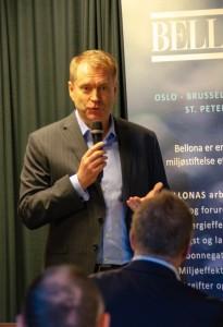 Lars Ljoen, CEO Carnival Maritime