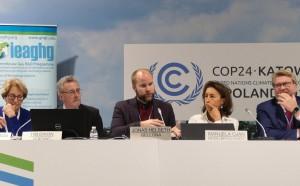 Leder for Bellona Europa, Jonas Helseth, var blant deltakerne i panelet som diskuterte CCS som virkemiddel for å få bort CO2-utslippene i den internasjonale industrien.