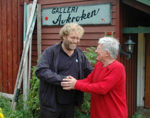 Johs Røde og Frederic Hauge på Ramberg