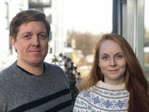 Stefan Erbs og Mari Bjordal, havbruksrådgivere i Bellona