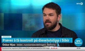 Oskar Njaa om dieselutslipp i Sibir