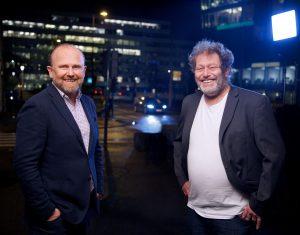 Frederic Hauge og Henrik Badin