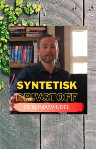 Eivind Berstad om syntetisk drivstoff