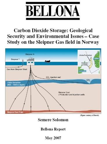 Carbon Dioxide Storage