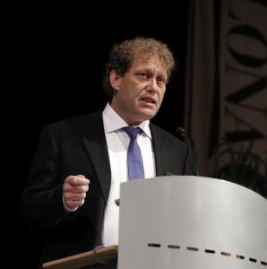 Frederic Hauge på jubileumskonferanse