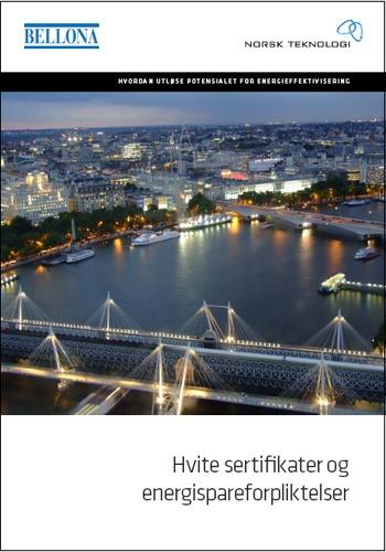Hvite sertifikater og energispareforpliktelser