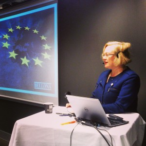 Helen Campbell, EUs ambassadør til Norge