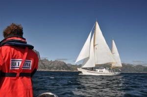 Bellonas skip Kallinika besøker Lofoten.