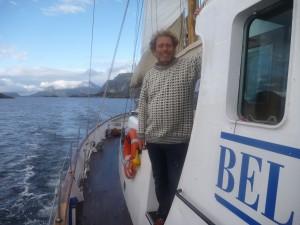 Frederic Hauge på Kallinika