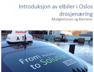 Rapport Oslo Taxi