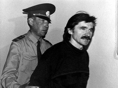1996 Nikitin arresteres av KGB