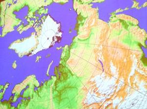 kart Arktis