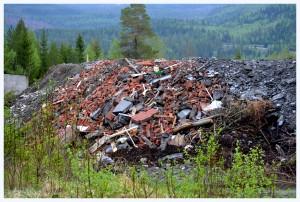 dumpet avfall trøndelag