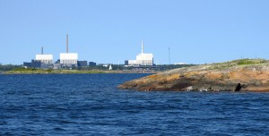 The Oskarshamn nuclear power plant in Sweden. (Photo: Wikimedia Commons)