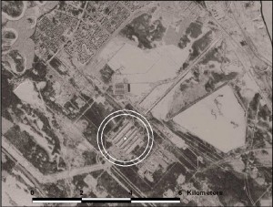 Satellite photo of Angarsk Electrolysis Chemical Combine