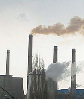 A European factory belching Co2 (Frontpage ingress image)