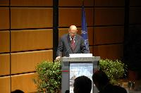 Mohammad ElBaradei addresses nuclear fuel bank conference (Frontpage ingress image)