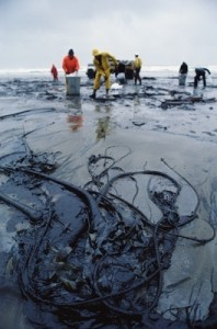 The Arctic is particularly vulnerable to oil spills (Frontpage ingress image)