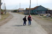 Children of the Muslyumovo village, situated on the contaminated Techa river (Part-Whole)