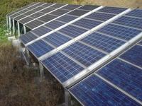 Solcellepanel, fornybar energi, solkraft, renewable energy, solar panel