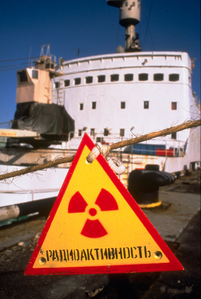 Lepse with radiation sign
