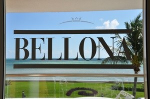 Bellona logo på vindu i Cancun (Ingress image)