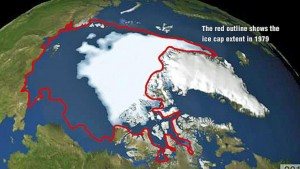 Arctic ice sheet