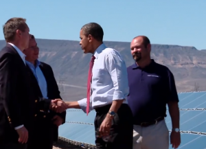 Obama visiting a solar facility.jpg