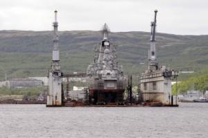 pyotr veliky drydock