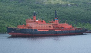 The Arktika nuclear icebreaker, which is soon slated for dismantlement.