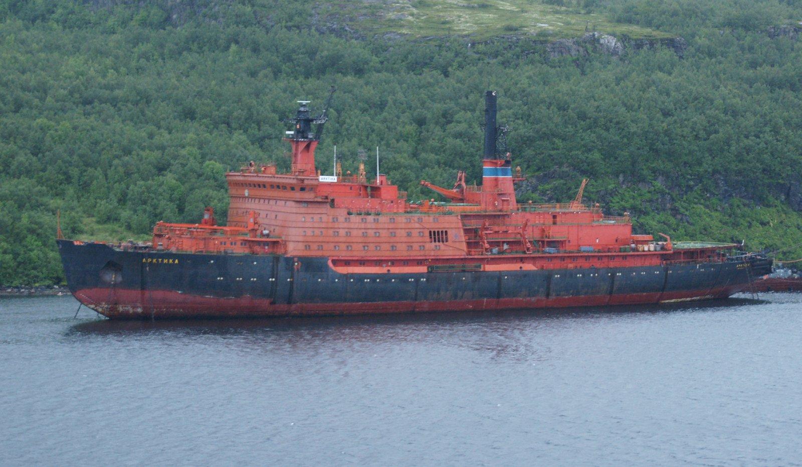 Russian icebreaker fleet to dismantle vessels at Sayda Bay ...  Russian icebrea...