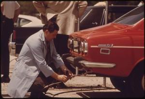 Laboratory testing cars