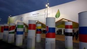 COP21 entrance