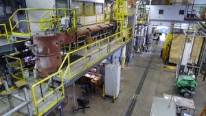 Combustion-Test-Facility