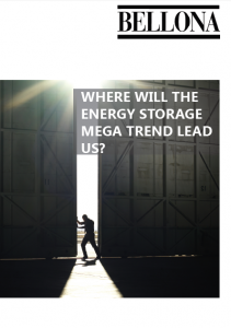 Where will the energy storage mega trend lead us.