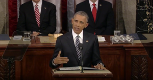 Obama delivering his eighth and last State of the Union Address (Photo: White House)