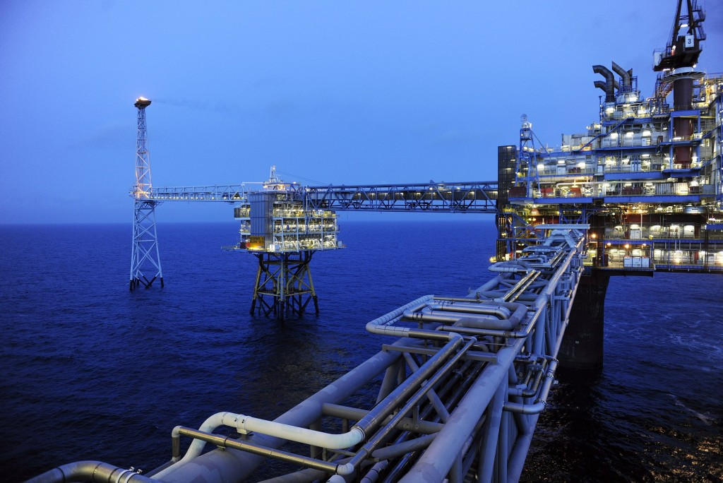 gas pipelines Sleipner - Photo Kjetil Alsvik - Statoil