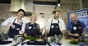 Bellona and Norway's fisheries minister cooking with seaweed