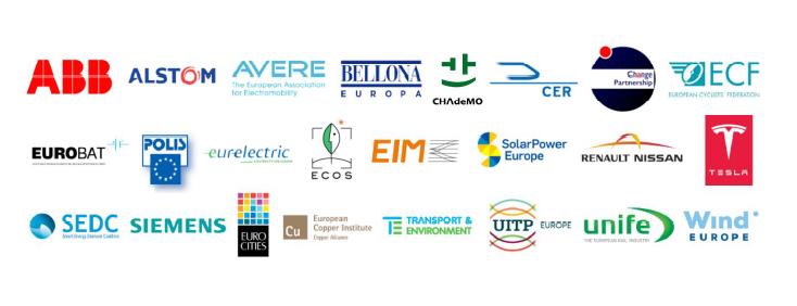 Emobility Platform Member Logos
