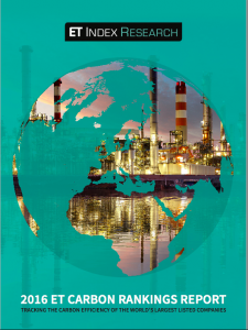 ET Carbon Ranking Report 2016