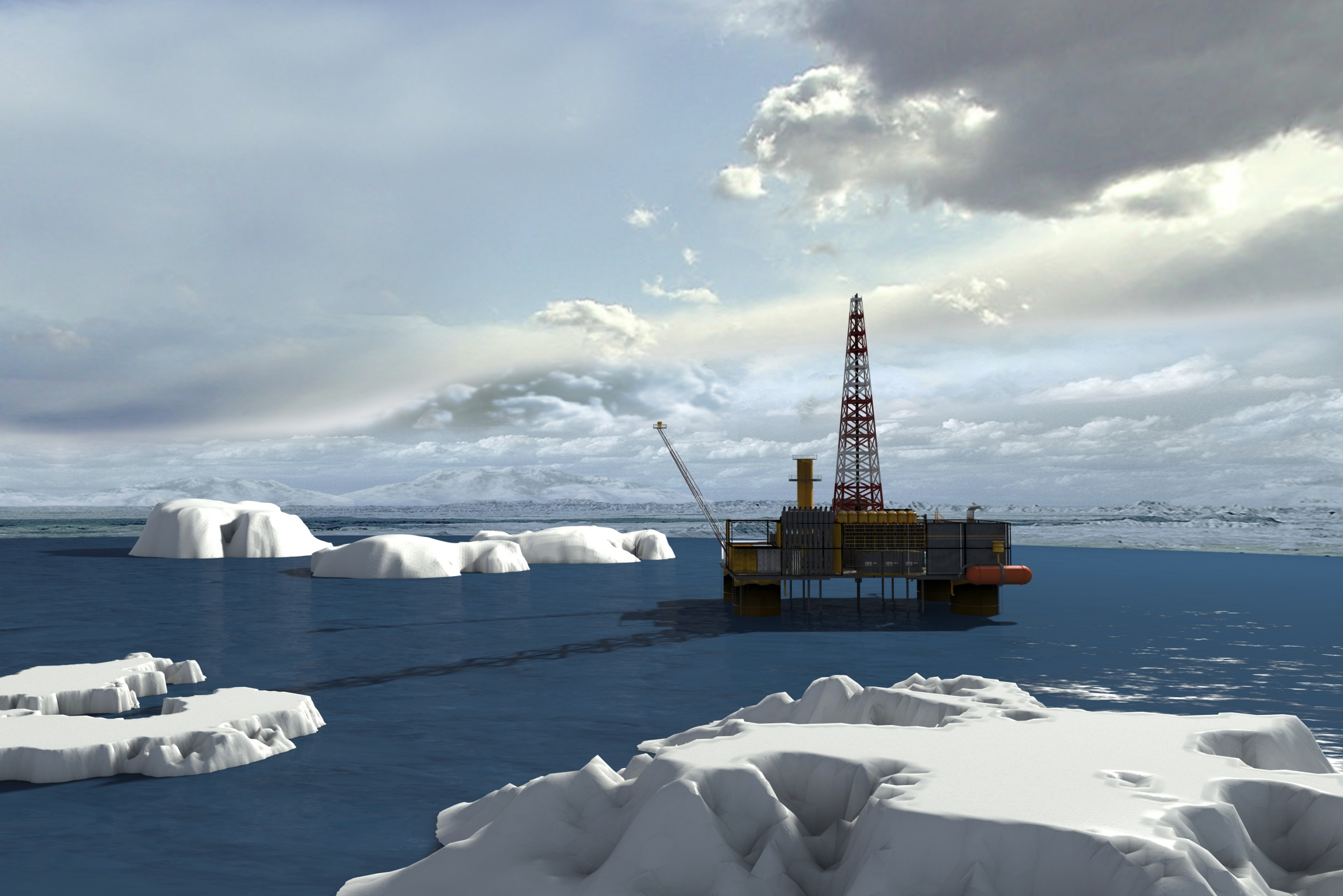 oil drilling in the arctic The arctic is the final frontier of the oil era overused oil fields around the planet are dwindling, tempting energy firms to tap the top of the planet despite its hostile environment an estimated 13 percent of earth's undiscovered oil lies underneath the arctic, totaling about 90 billion barrels at our current rate of.